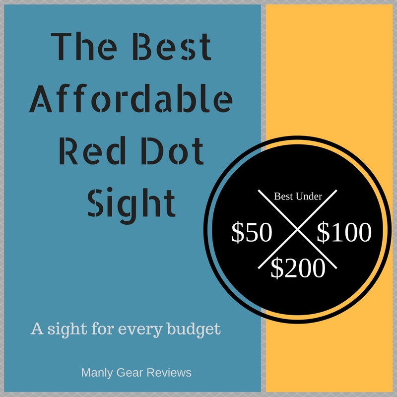 best affordable red dot sight