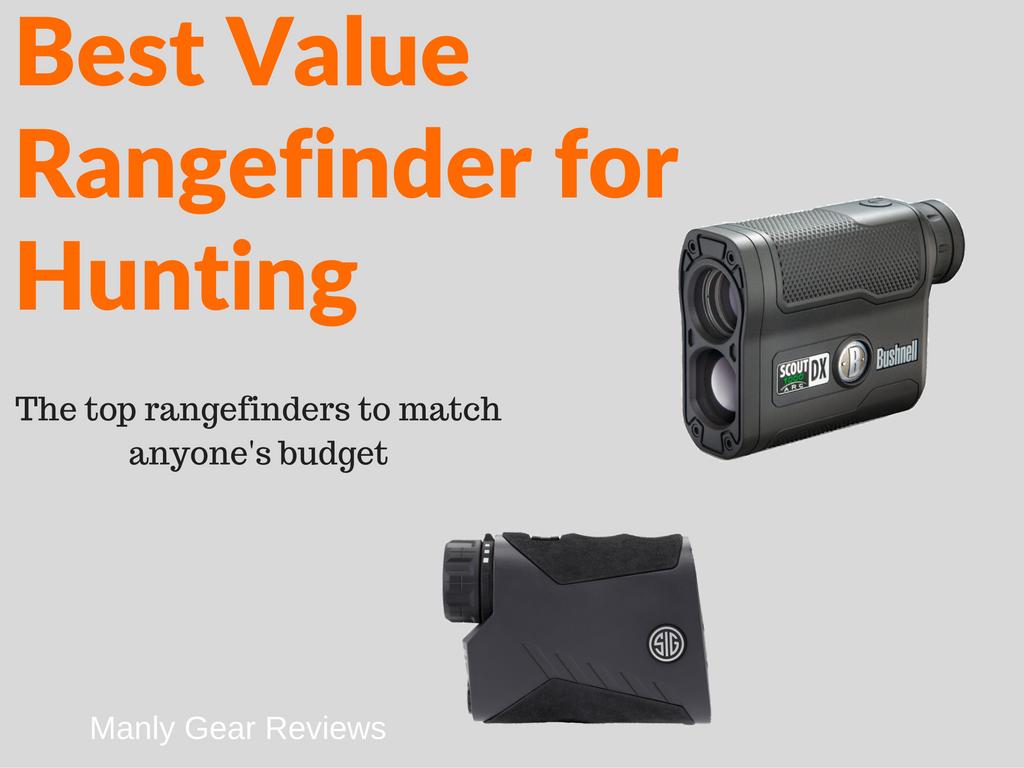 Best Value Rangefinder for Hunting