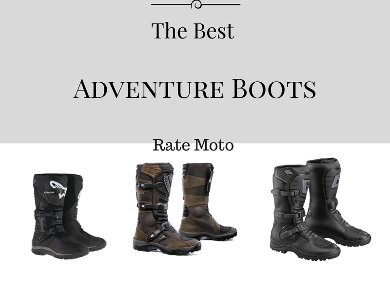 best adventure motorcycle boots