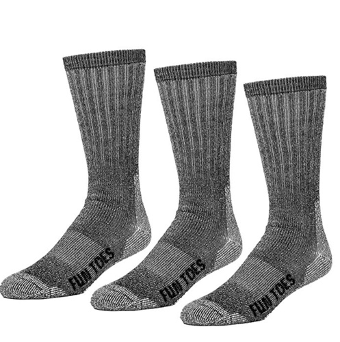 fun toes hunting socks