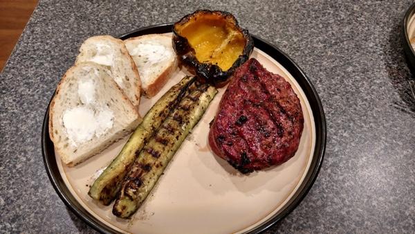 Grilled Filet Mignon Reverse seared