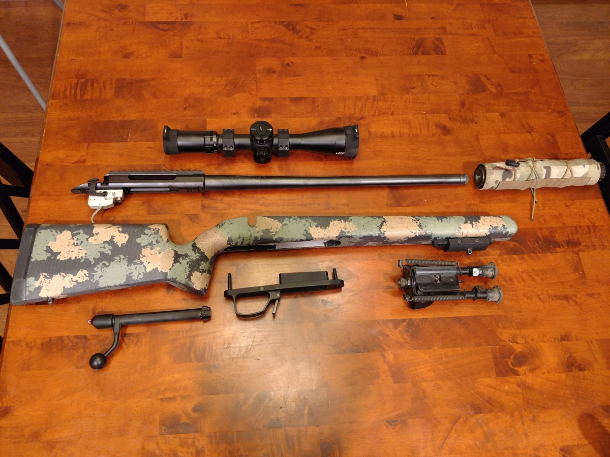 tikka t3x ctr manners eh1 stock cdi bottom metal dbm suppressor